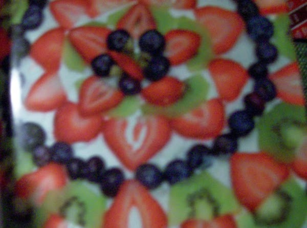 Holiday Surprise Fruit Pizza Recipe