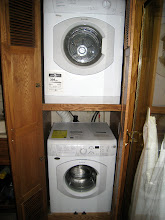 Photo: Splendide front loading washer and dryer, recently installed.