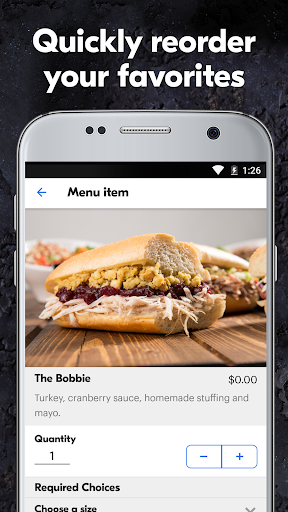 Grubhub: Food Delivery  screenshots 5