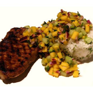 Jerk Grilled Pork Chops
