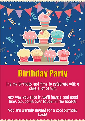 Birthday Party Invitation Apps On Google Play