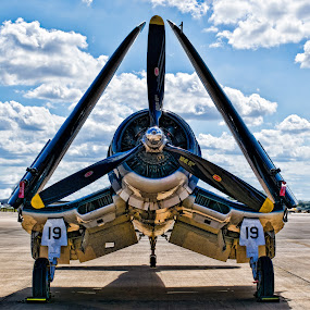 Full Frontal by Natures Grenade - Transportation Airplanes
