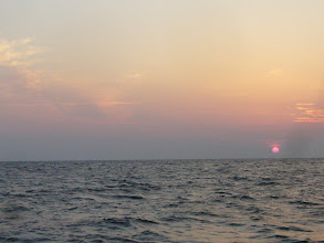 Photo: そして、日が昇ってきた! 今日もよろしくお願いします!