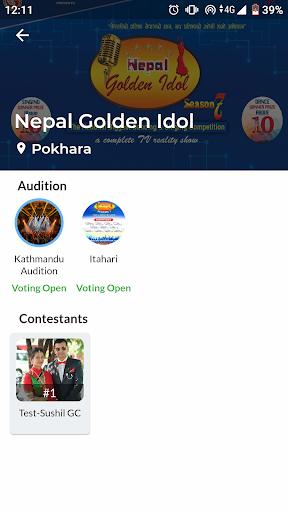 GSM | Golden Star Multimedia | Nepal Golden Idol 1.3.0 screenshots 2