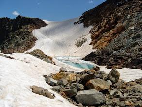 Photo: Salendo verso il Col du Pluviometre... nessun errore: sono salito, sceso e risalito... avevo tempo da perdere!