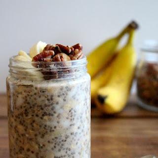 Banana Bread Overnight Oats Recipe