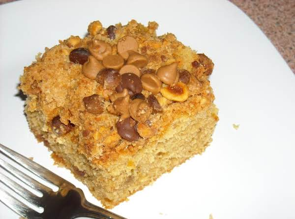 Peanut Butter Crunch Cake Recipe