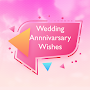 Happy Wedding Anniversary Wishes & Greetings Cards APK icon