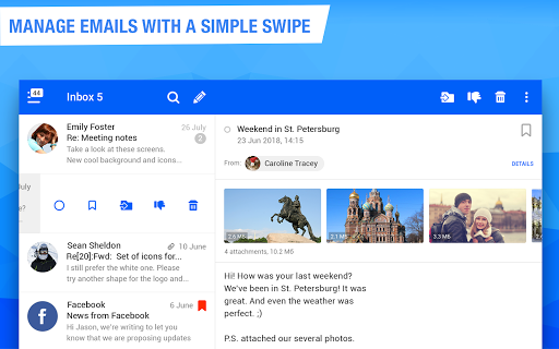 Mail.ru - Email App 11.16.0.29372 screenshots 6