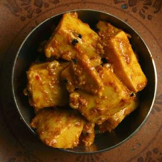 Korean-style Spicy Tofu.