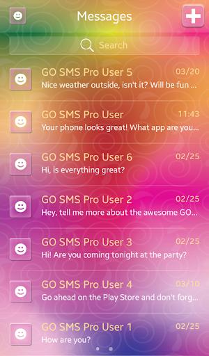 GO短信加强版彩色
