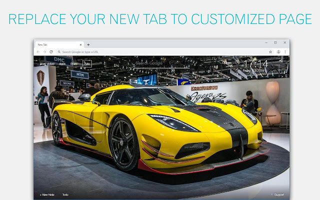 Koenigsegg Agera Sports Cars Custom New Tab
