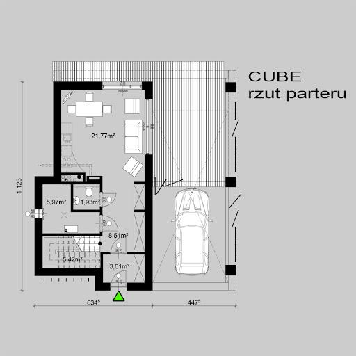 Cube - Rzut parteru