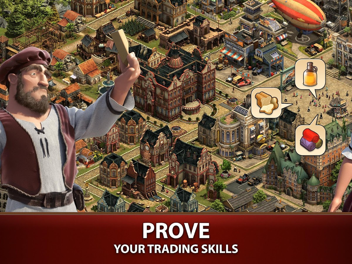 Forge Of Empires apk for android, pc and ios