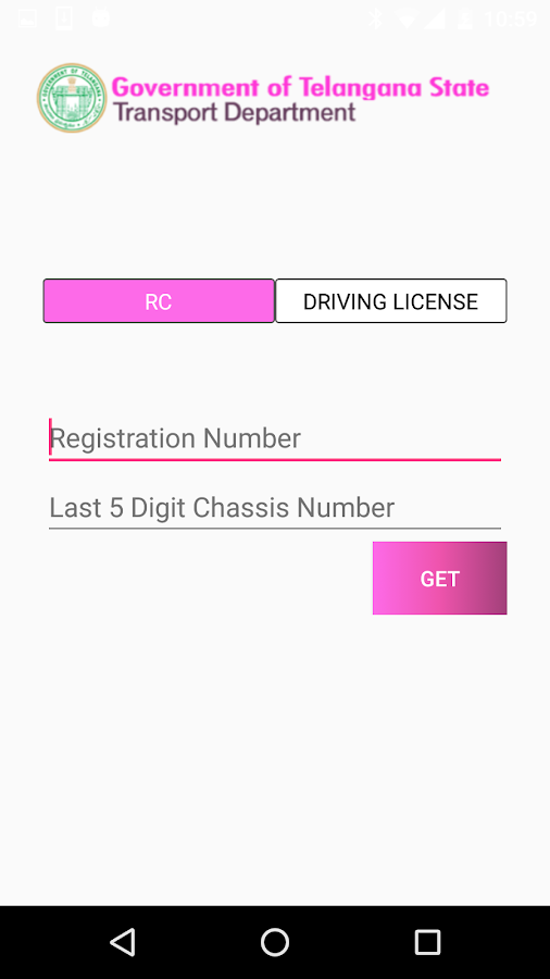 Telangana transport portal-8324