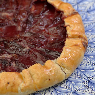 Blood Plum Galette