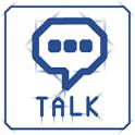 심플 블루라인 카카오톡 테마(Kakao theme) icon