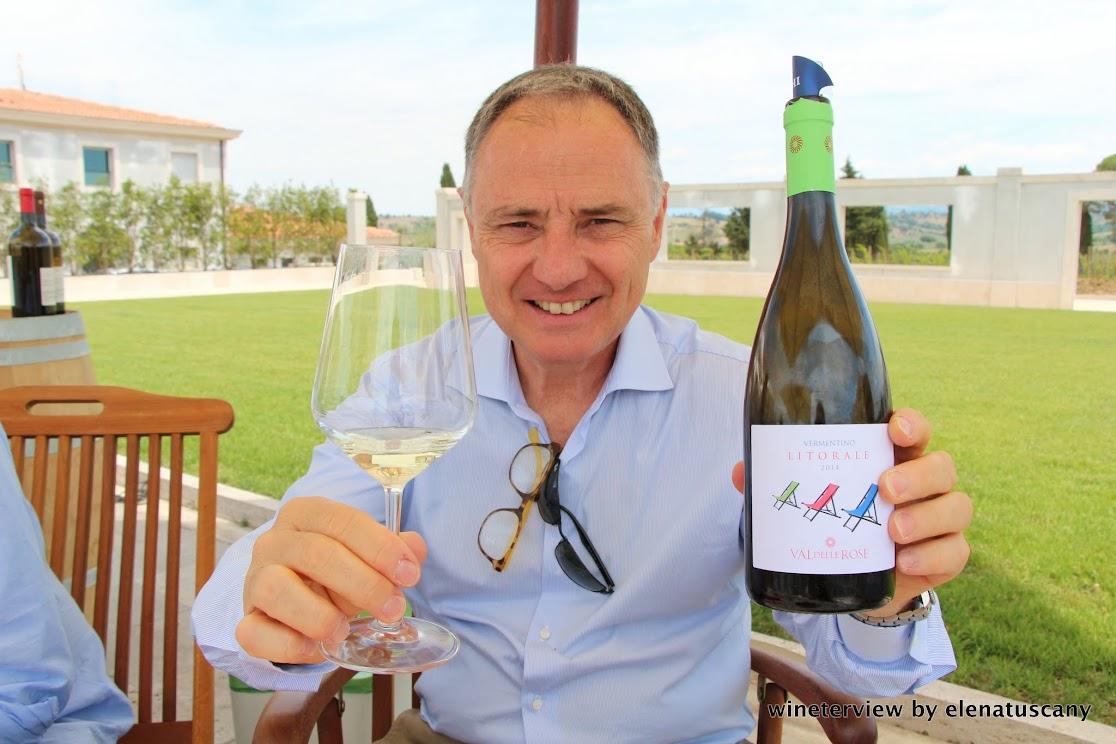 Andrea Cecchi, cecchi, winery, litorale, litorale vermentino, val delle rose, maremma vino