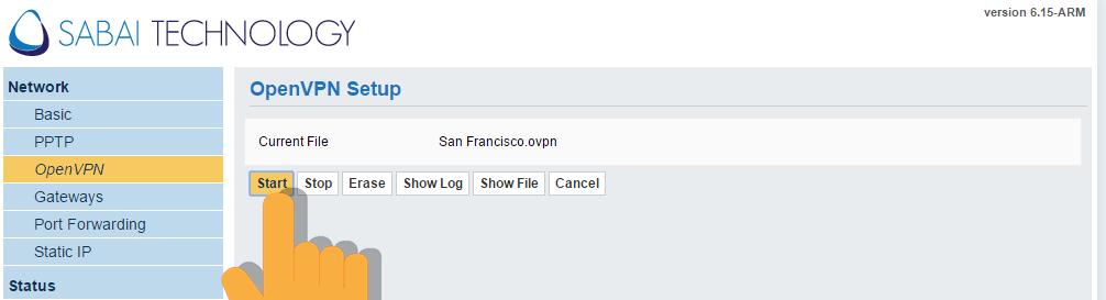 VPN Router Setup
