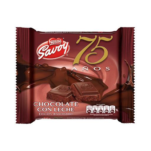 chocolate savoy edicion especial chocolate con leche 100gr