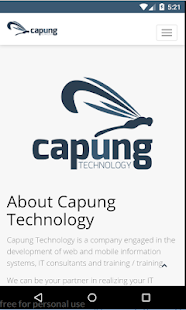 Capung Technology - náhled