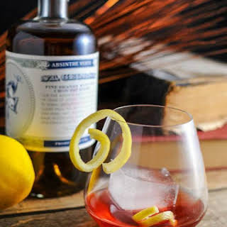 Blackberry Sazerac and a visit to St. George Distilling.