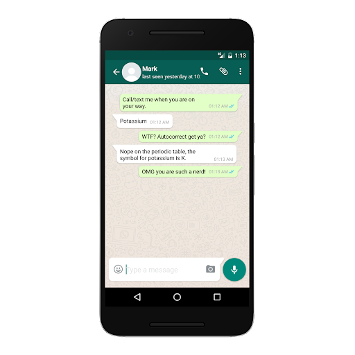 WhatsFake (Fake Conversations) app (apk) free download for Android/PC/Windows screenshot