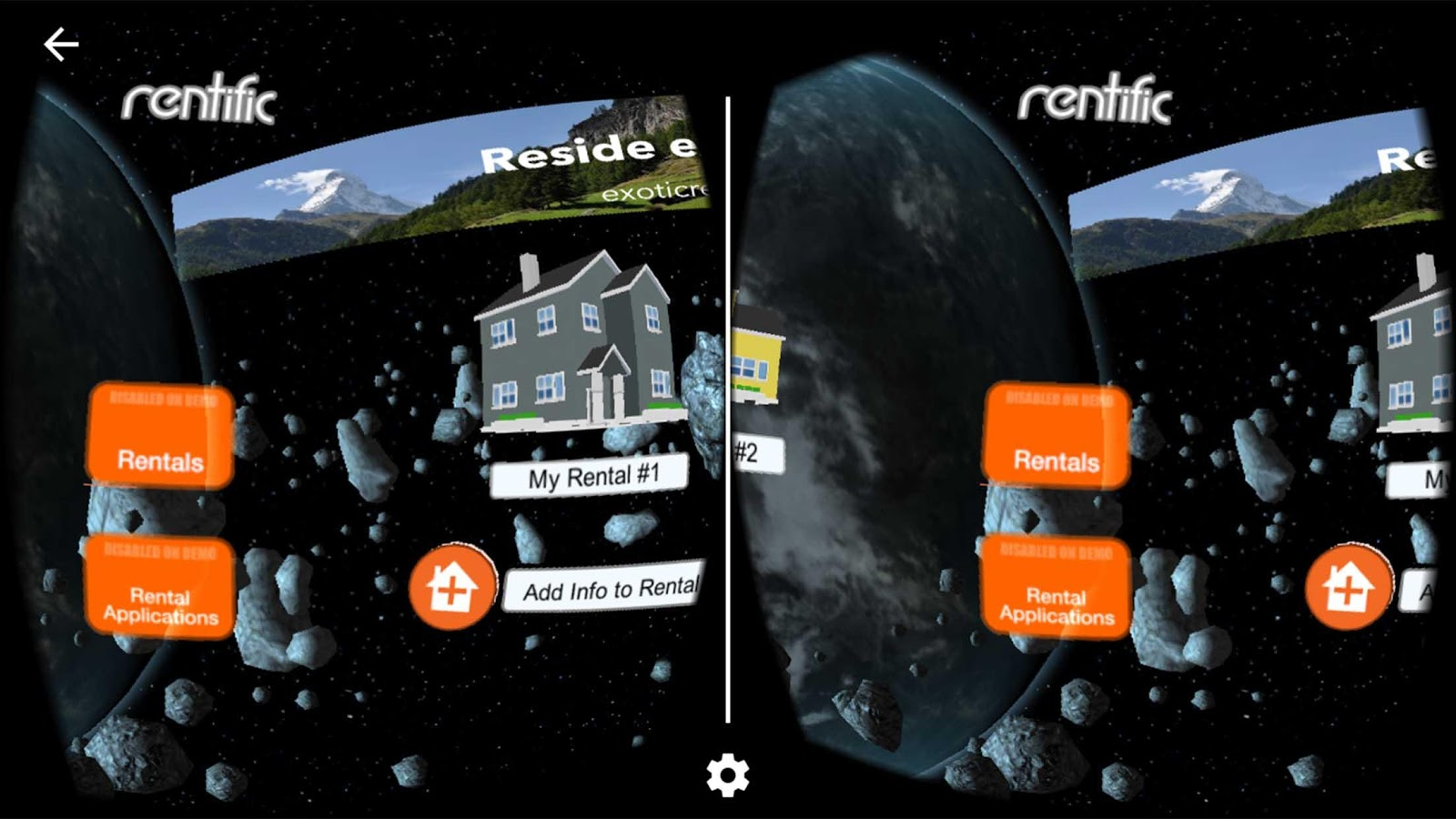 Rentific VR App- screenshot