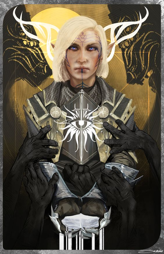 Dragon Age: Inquisitor, by mattdemino
