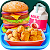 School Lunch Food - Burger, Popcorn Chicken & Milk file APK for Gaming PC/PS3/PS4 Smart TV