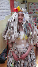 Photo: RECYCLED MATERIALS (A Wedding Dress)
