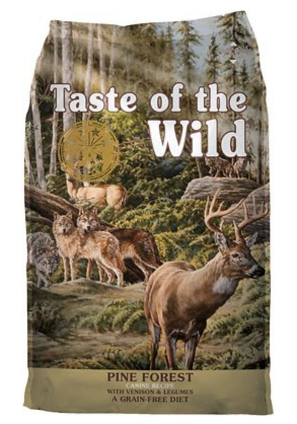 venison based dog food, taste of the wild