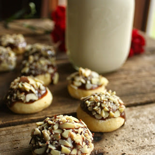 Cardamon Nutella Almond Crunch Cookies