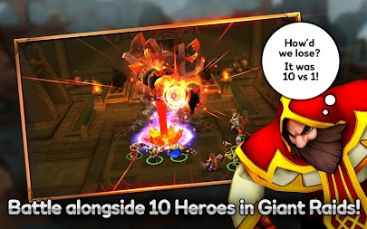 Giants War APK screenshot thumbnail 5