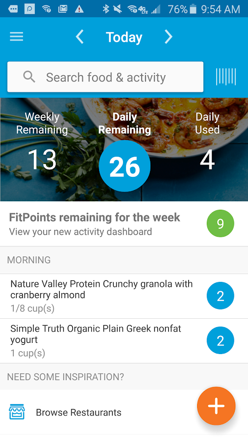 Stay on plan wherever you are There are many ways to stay focused on your weight loss plan when you're on the go - including these great apps for your phone or mobile device.