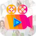 Photo Video Maker with Music, Video Status sharing icon