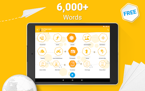 Learn Spanish Vocabulary - 6,000 Words- screenshot thumbnail