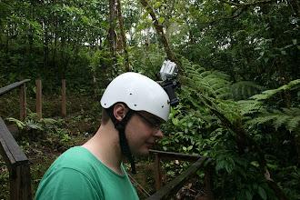 Photo: Start unserer Rundreise. Stopp 1: Canopy - die Kamera sitzt!