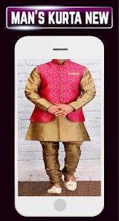 Stylish Men's Kurta Designs Shalwar Ideas Latest - náhled