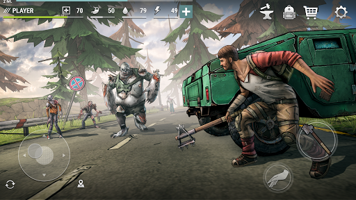 Dark Days: Zombie Survival apktreat screenshots 1