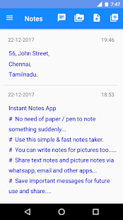 Instant Notes - Notes Taker & Save Messages - náhled