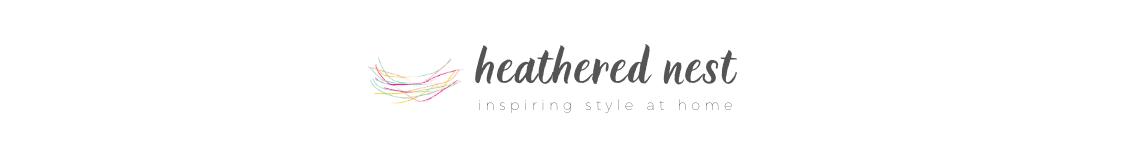 heathered nest logo