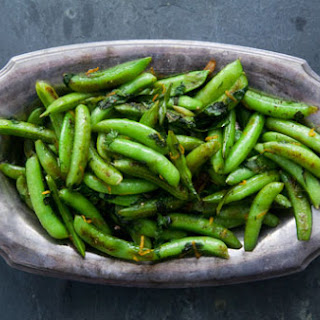 Seared Sugar Snap Peas.