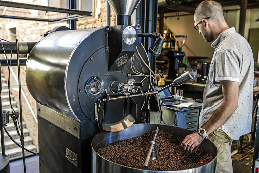Coffee roasting at Origin. Picture: SUPPLIED