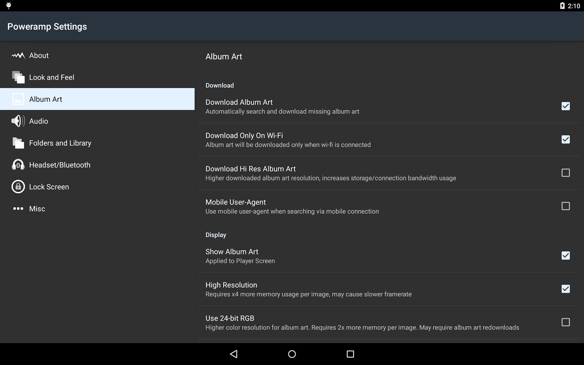 Poweramp Full Version Unlocker screenshot #15