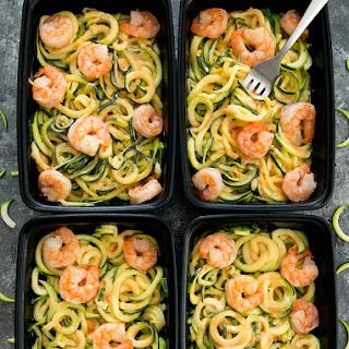 Skinny Bang Bang Zucchini Noodles Meal Prep Recipe