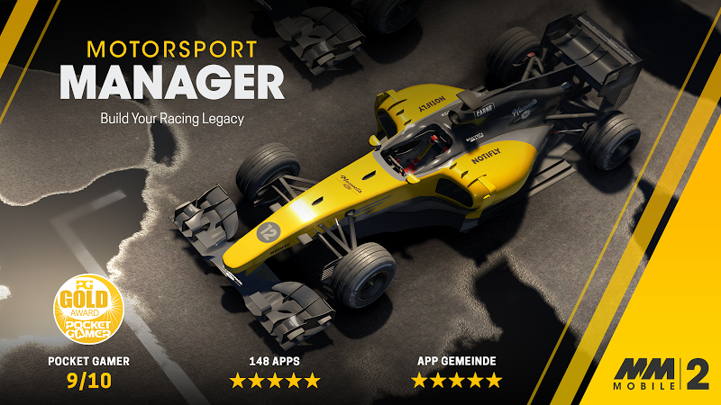 Motorsport Manager Mobile 2 v1.0.2 + Mod