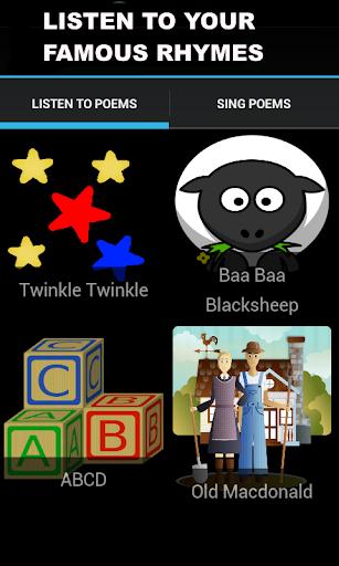 玩免費教育APP|下載子供のための短い英語詩。 app不用錢|硬是要APP