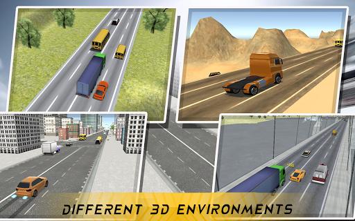 Heavy Traffic Racing 3D apktram screenshots 1