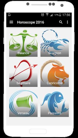 android Horoscope 2016 en Français Screenshot 1